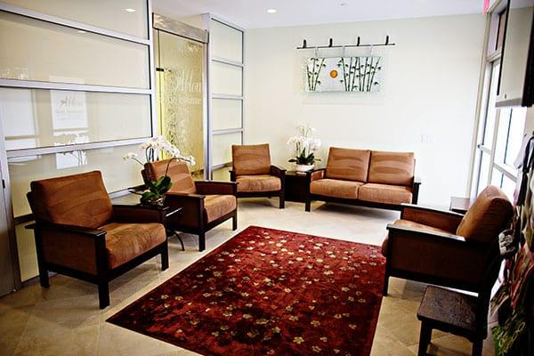 Ablon Skin Institute waiting-room
